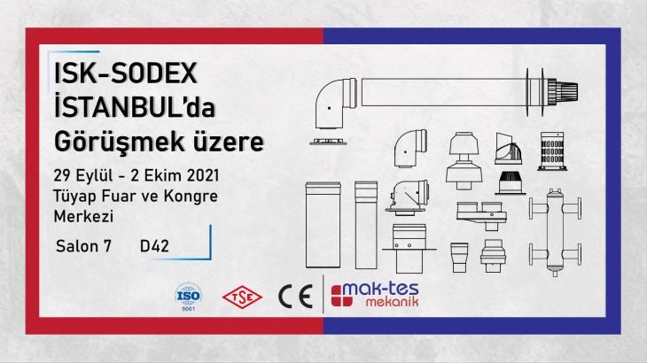 ISK-SODEX  İSTANBUL'da Görüşmek üzere
